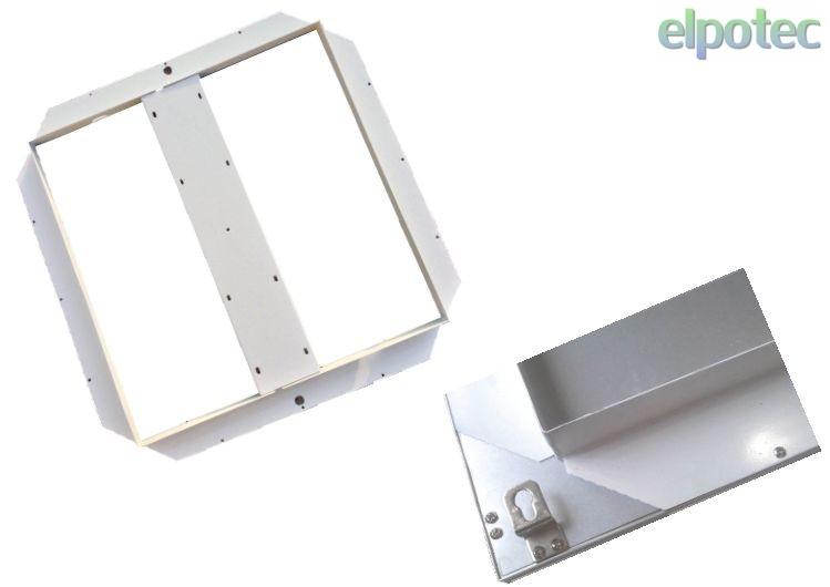 unterbaurahmen f r led panel 620x620 elpotec. Black Bedroom Furniture Sets. Home Design Ideas