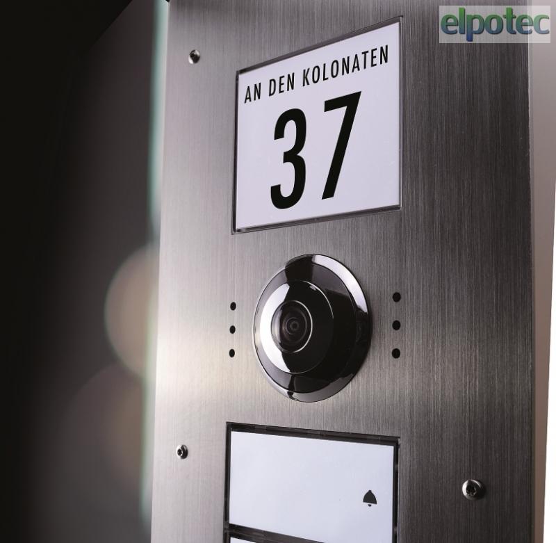 vdv 840 4 familienhaus au enstation video t rsprechanlage. Black Bedroom Furniture Sets. Home Design Ideas